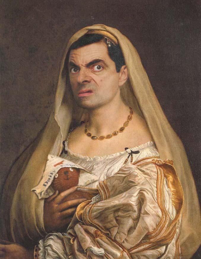 Ο Mr Bean πρωταγωνιστεί στις πιο ξεκαρδιστικές δημιουργίες με Photoshop (21)