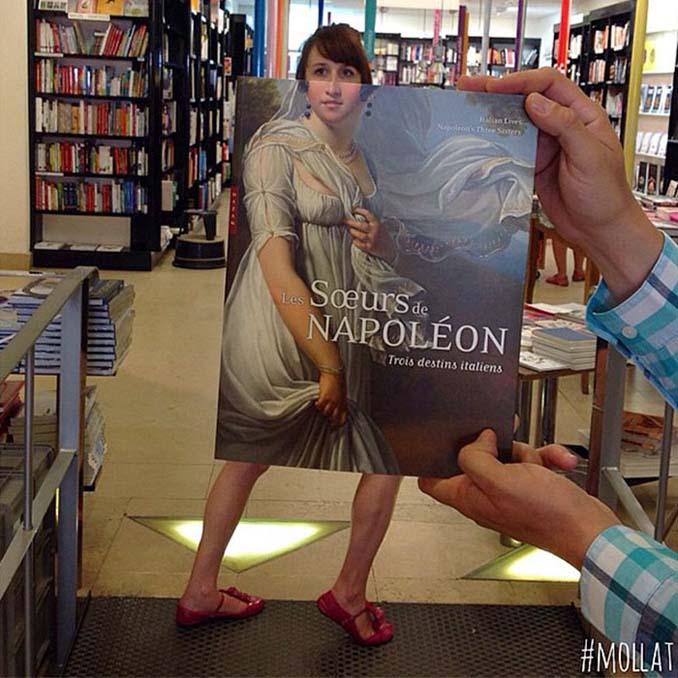 Όταν οι εργαζόμενοι ενός βιβλιοπωλείου βαριούνται (6)