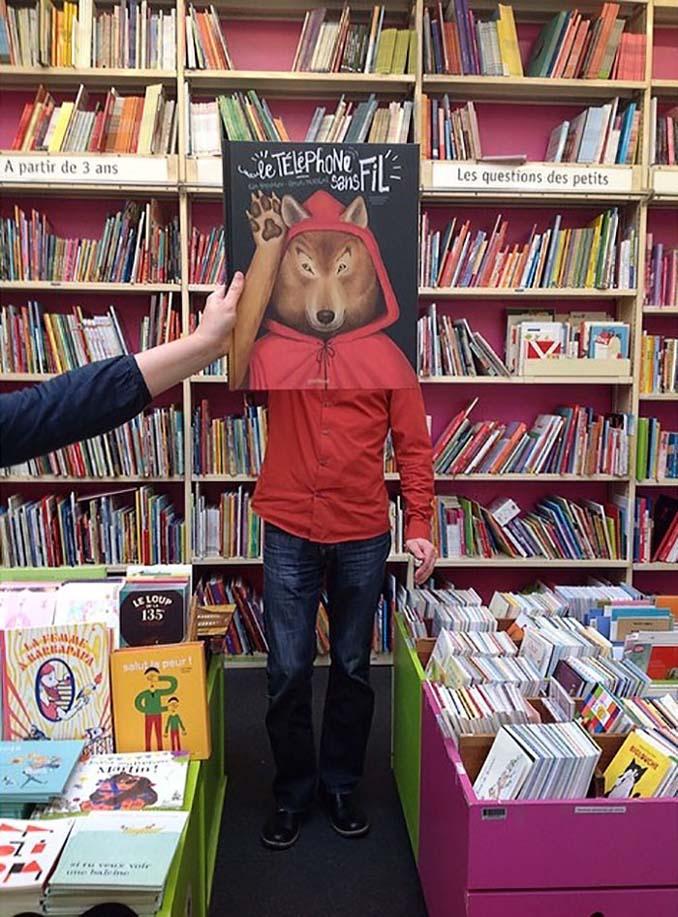Όταν οι εργαζόμενοι ενός βιβλιοπωλείου βαριούνται (15)