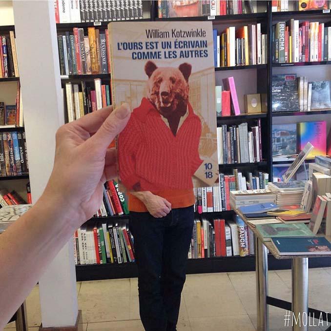 Όταν οι εργαζόμενοι ενός βιβλιοπωλείου βαριούνται (21)