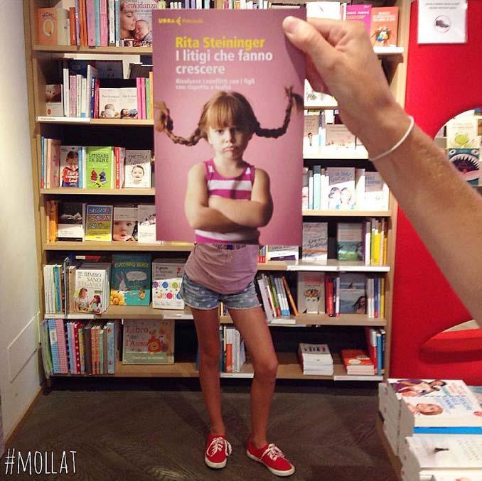 Όταν οι εργαζόμενοι ενός βιβλιοπωλείου βαριούνται (25)
