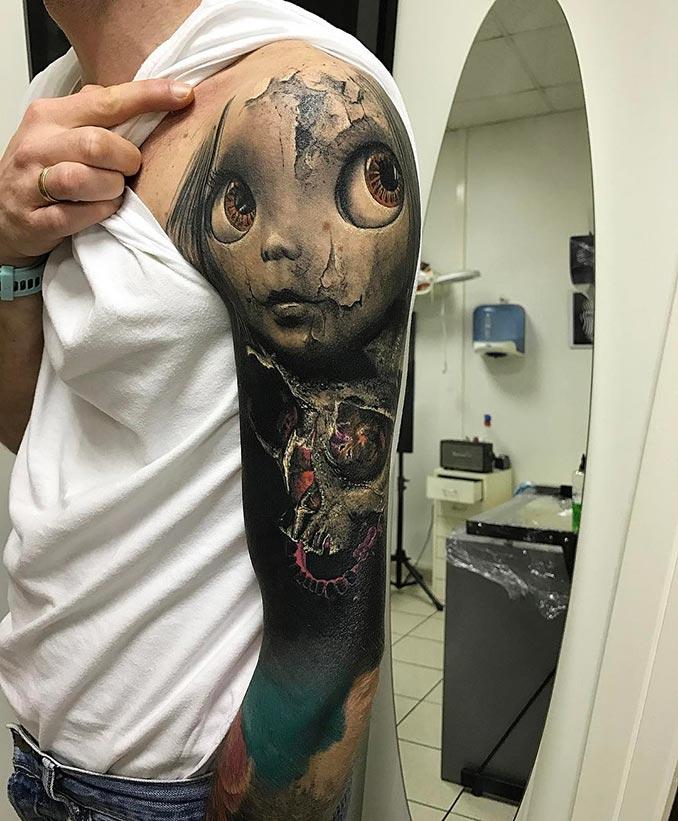 Τατουάζ που μοιάζει να ζωντανεύει | Φωτογραφία της ημέρας