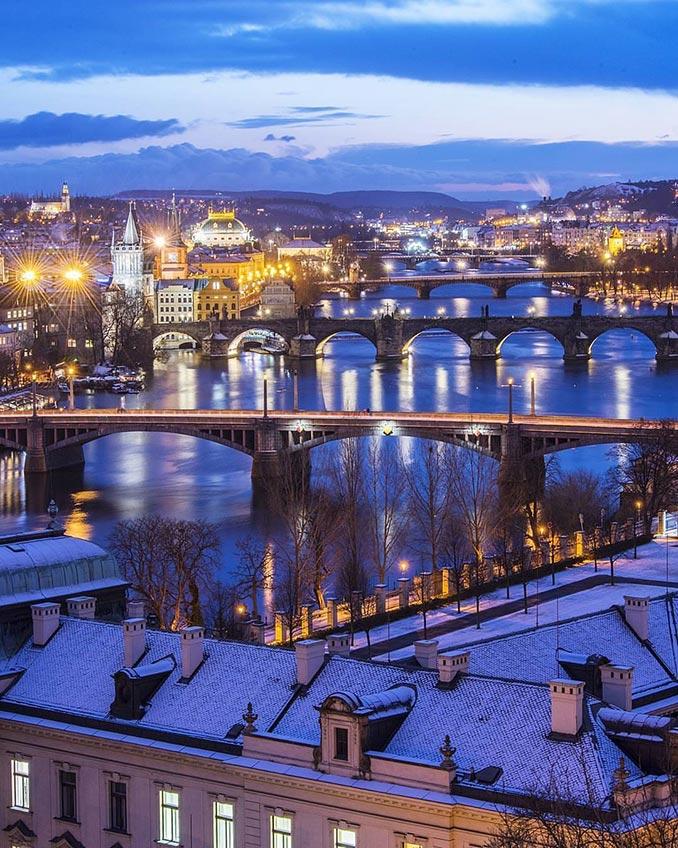 Η εκπληκτική θέα της Πράγας | Φωτογραφία της ημέρας