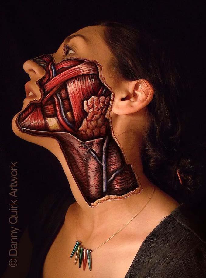 Ρεαλιστικά ανατομικά body painting αποκαλύπτουν τις δομές κάτω από το δέρμα μας (6)