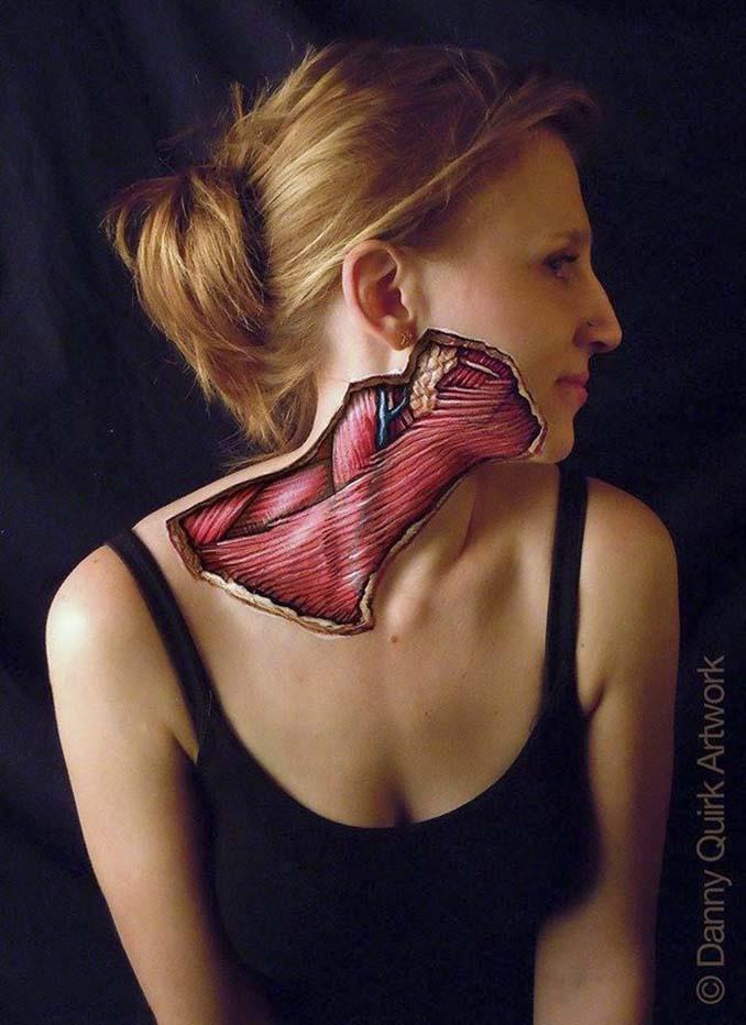 Ρεαλιστικά ανατομικά body painting αποκαλύπτουν τις δομές κάτω από το δέρμα μας (7)
