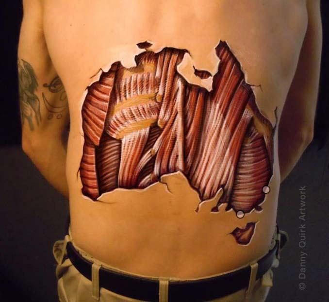 Ρεαλιστικά ανατομικά body painting αποκαλύπτουν τις δομές κάτω από το δέρμα μας (8)