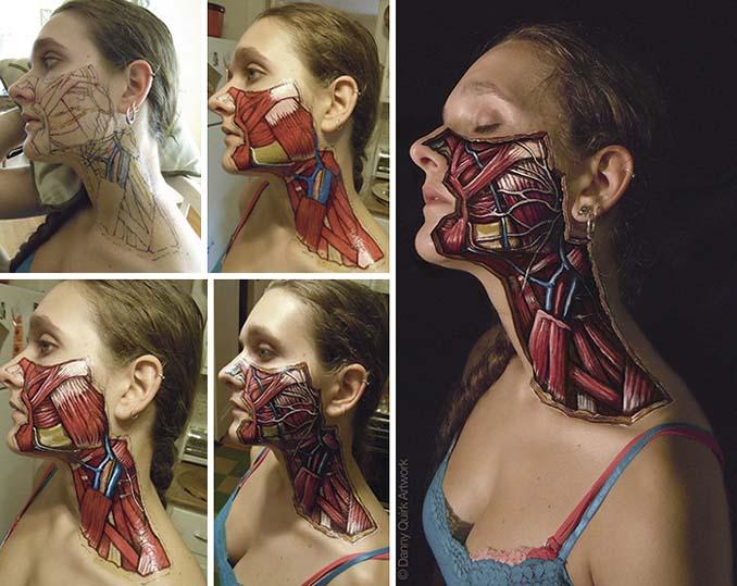 Ρεαλιστικά ανατομικά body painting αποκαλύπτουν τις δομές κάτω από το δέρμα μας (10)