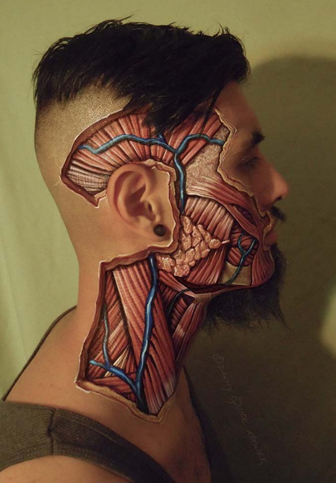 Ρεαλιστικά ανατομικά body painting αποκαλύπτουν τις δομές κάτω από το δέρμα μας (12)