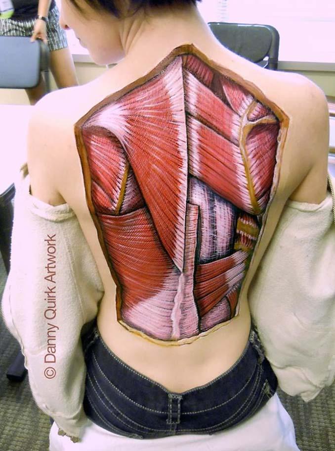 Ρεαλιστικά ανατομικά body painting αποκαλύπτουν τις δομές κάτω από το δέρμα μας (13)