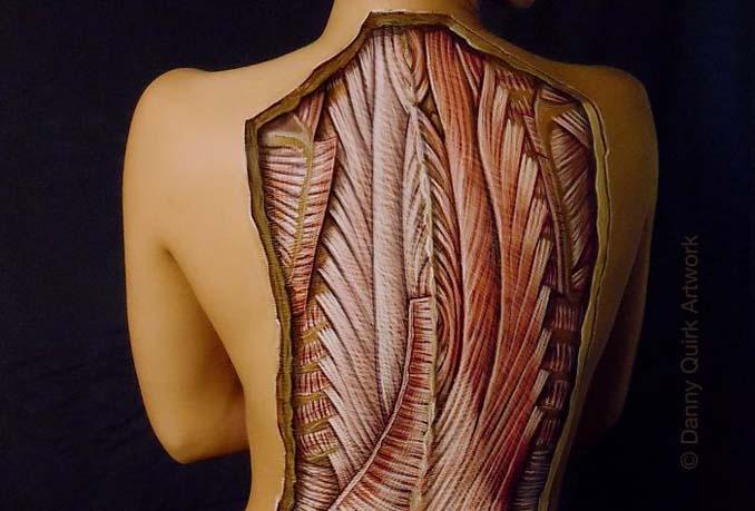 Ρεαλιστικά ανατομικά body painting αποκαλύπτουν τις δομές κάτω από το δέρμα μας (14)