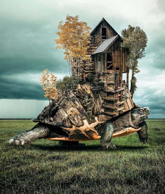 Τα σουρεαλιστικά και γεμάτα φαντασία φωτομοντάζ ενός ταλαντούχου καλλιτέχνη (12)
