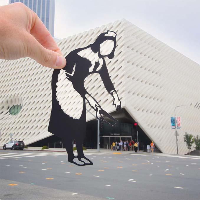Σχέδια από χαρτί μετατρέπουν διάσημα αξιοθέατα σε απίστευτα σκηνικά (8)