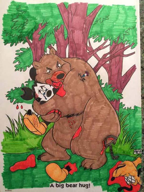 Σχέδια ζωγραφικής... στα χέρια ενηλίκων #5 (2)