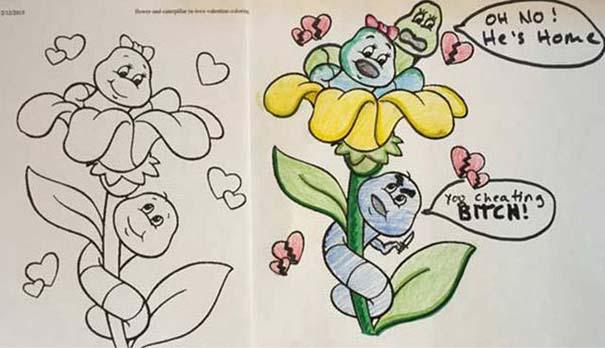 Σχέδια ζωγραφικής... στα χέρια ενηλίκων #5 (10)