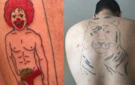 17 τραγικά τατουάζ που καταργούν κάθε λογική