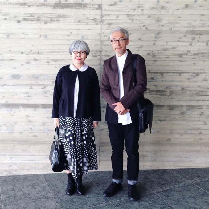 Ζευγάρι φοράει ταιριαστά ρούχα μετά από 37 χρόνια γάμου (1)