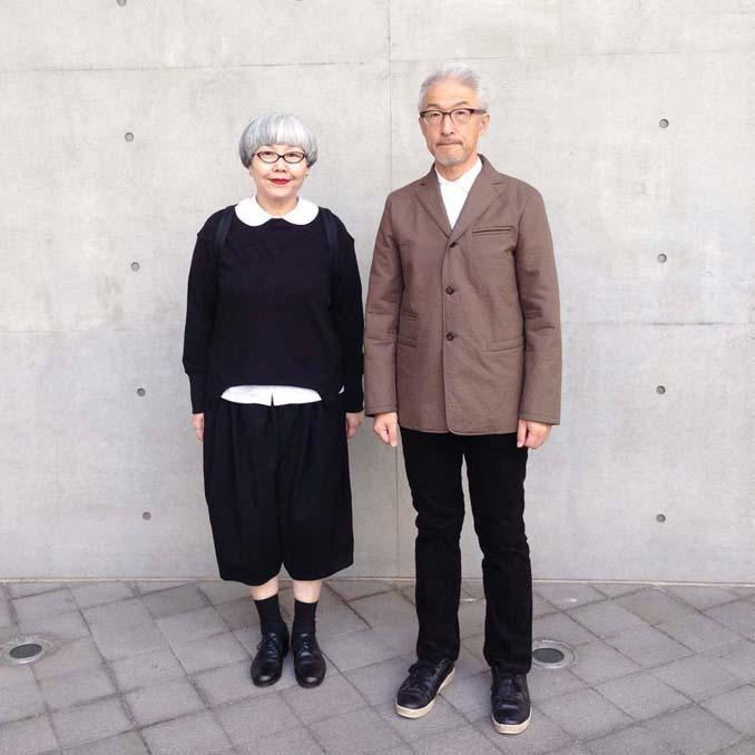 Ζευγάρι φοράει ταιριαστά ρούχα μετά από 37 χρόνια γάμου (4)