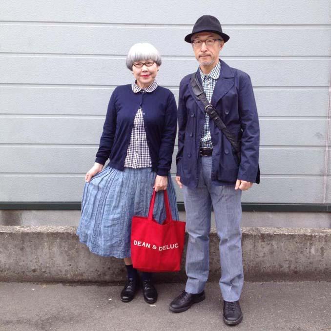 Ζευγάρι φοράει ταιριαστά ρούχα μετά από 37 χρόνια γάμου (5)