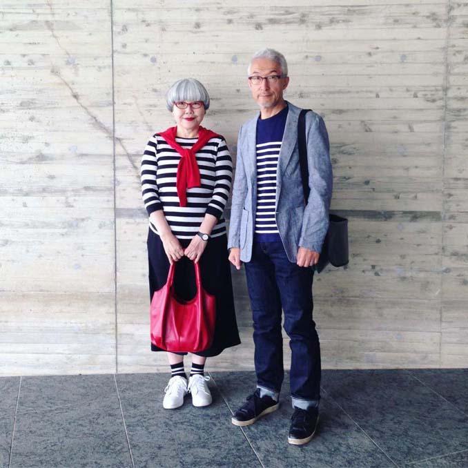 Ζευγάρι φοράει ταιριαστά ρούχα μετά από 37 χρόνια γάμου (6)