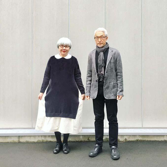 Ζευγάρι φοράει ταιριαστά ρούχα μετά από 37 χρόνια γάμου (7)