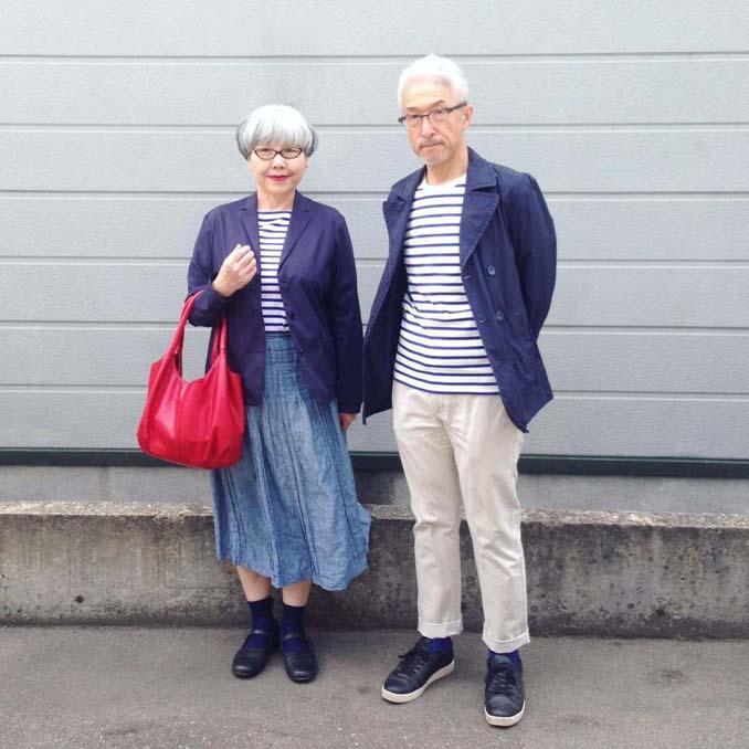 Ζευγάρι φοράει ταιριαστά ρούχα μετά από 37 χρόνια γάμου (8)