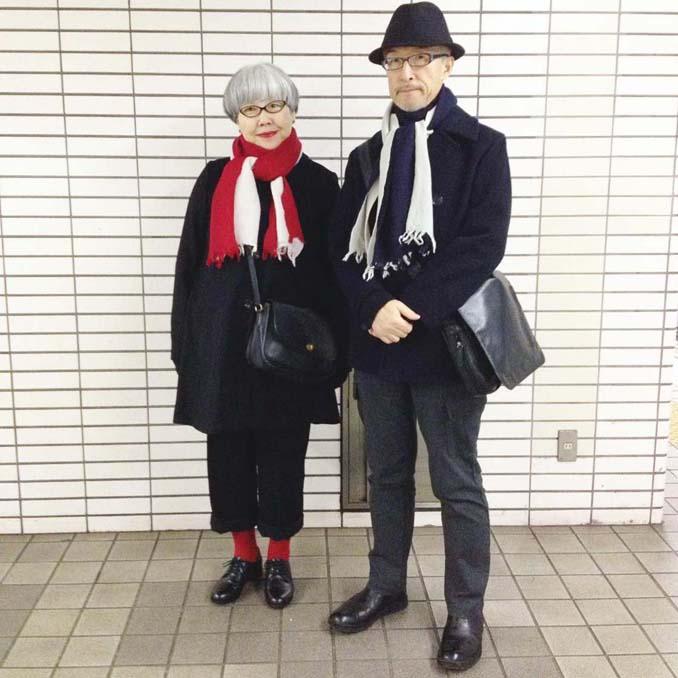 Ζευγάρι φοράει ταιριαστά ρούχα μετά από 37 χρόνια γάμου (9)