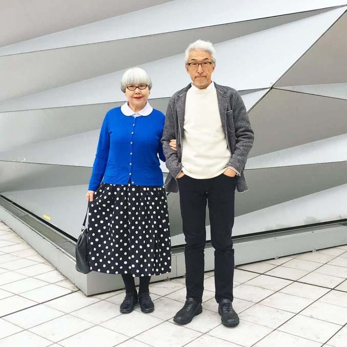 Ζευγάρι φοράει ταιριαστά ρούχα μετά από 37 χρόνια γάμου (13)