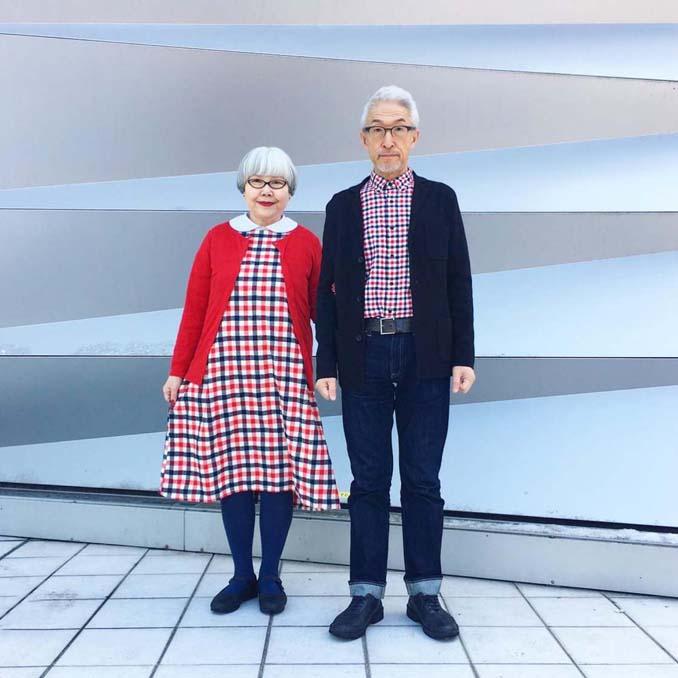 Ζευγάρι φοράει ταιριαστά ρούχα μετά από 37 χρόνια γάμου (17)
