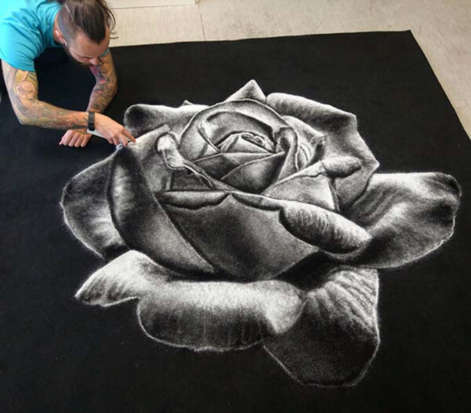 Ζωγραφίζοντας με αλάτι - τα εντυπωσιακά έργα του Dino Tomic (1)