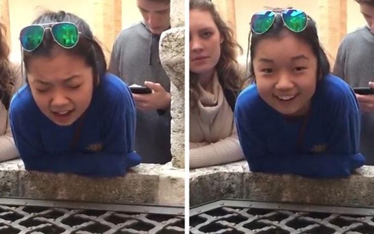 17χρονη τραγουδάει το Hallelujah σε ένα πηγάδι και κατακτά το Internet