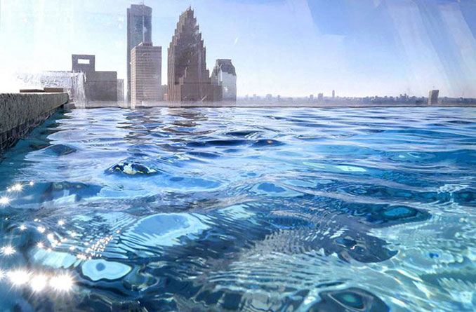 Πως είναι να κολυμπάς σε μια διάφανη πισίνα 150 μέτρα πάνω από έναν πολυσύχναστο δρόμο (3)