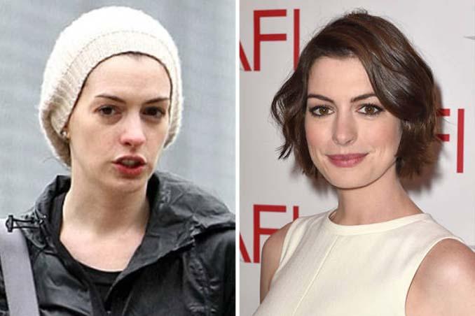 Διάσημες γυναίκες στην καθημερινότητα vs εμφανίσεις τους στο κόκκινο χαλί (8)