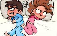 17 διασκεδαστικά κόμικ από την καθημερινότητα ενός ζευγαριού