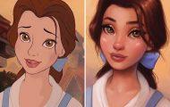 Δίνοντας νέο χρώμα στις πριγκίπισσες της Disney (1)