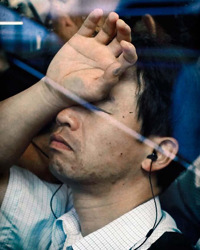 Ο εφιάλτης της ώρας αιχμής στα μέσα μεταφοράς του Τόκιο (19)