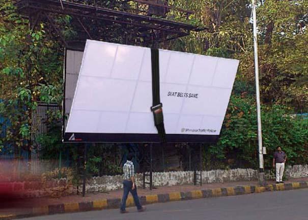 Έξυπνες διαφημιστικές αφίσες που πρωτοτύπησαν και εντυπωσίασαν (15)