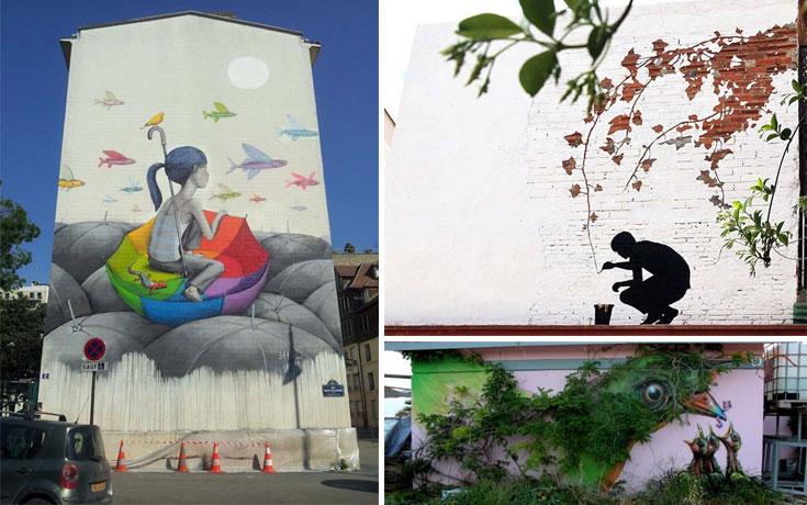 Εντυπωσιακά graffiti #41