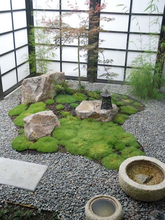 Εντυπωσιακά παραδείγματα μικρών εσωτερικών κήπων (10)
