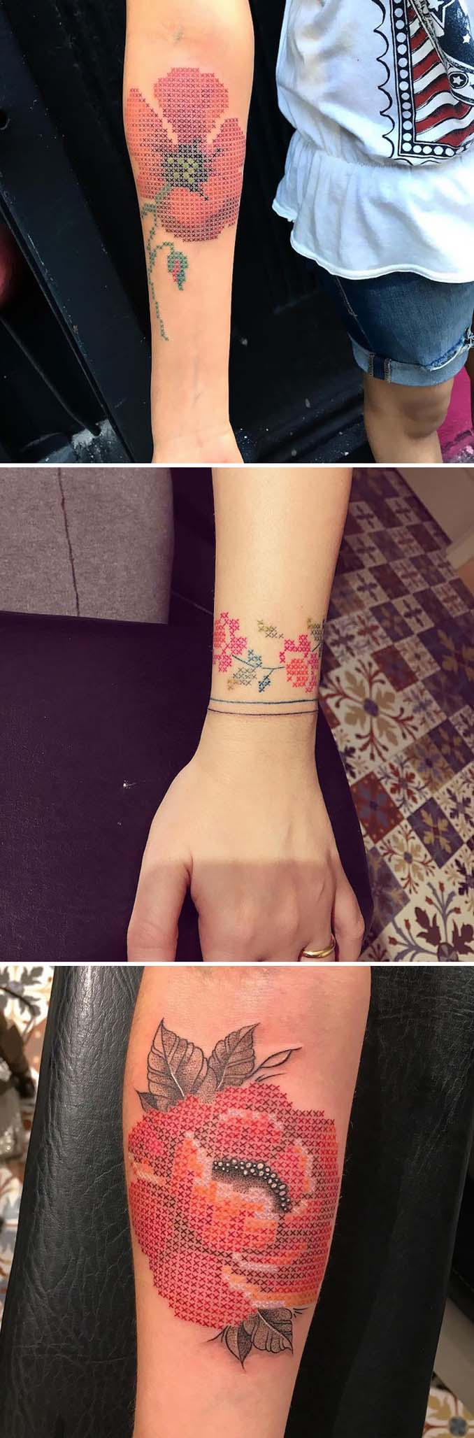 Φλοράλ τατουάζ (4)