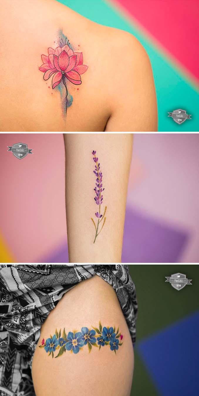 Φλοράλ τατουάζ (18)