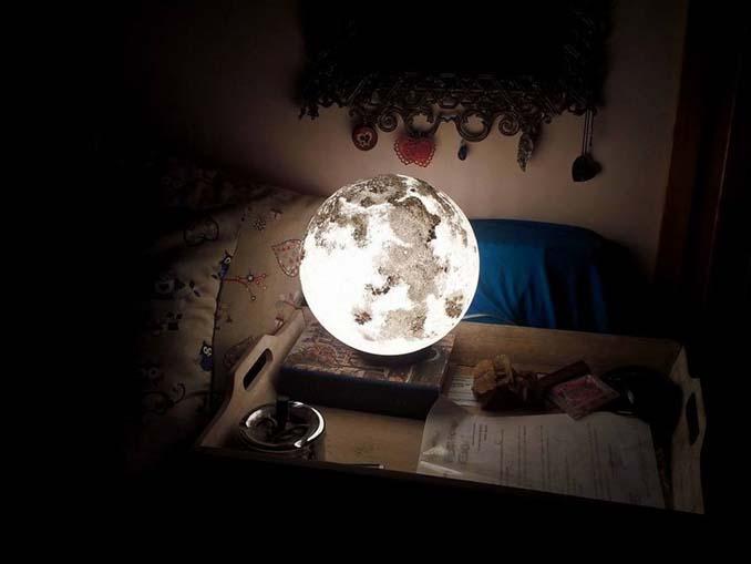 Φωτιστικά σε σχήμα της Σελήνης και πλανητών (2)