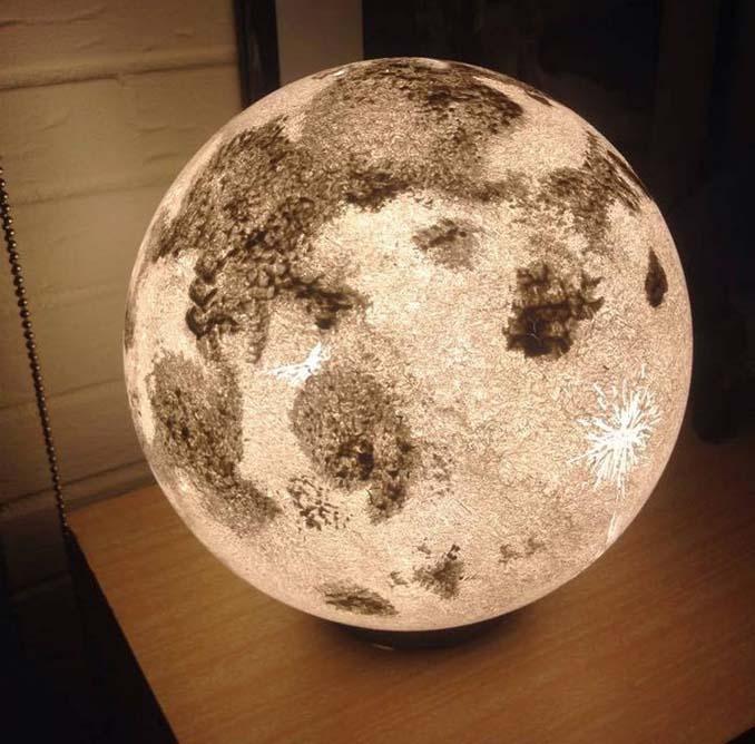 Φωτιστικά σε σχήμα της Σελήνης και πλανητών (3)
