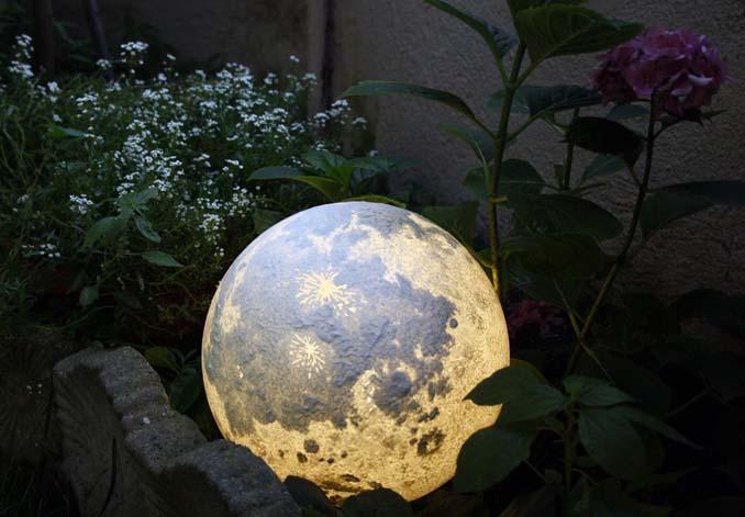 Φωτιστικά σε σχήμα της Σελήνης και πλανητών (7)