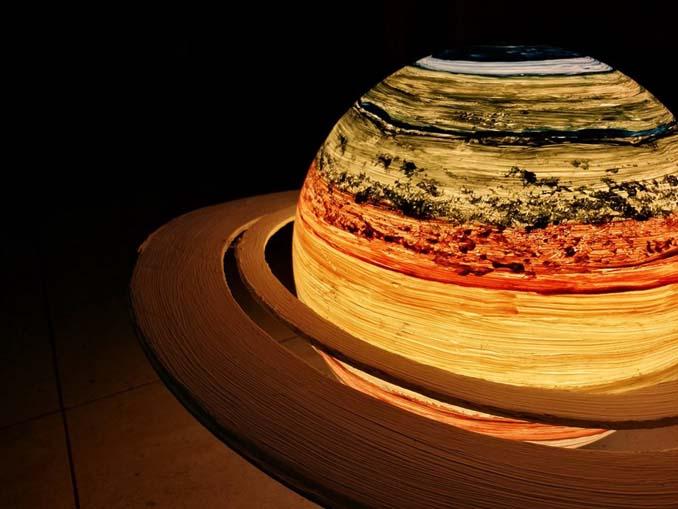 Φωτιστικά σε σχήμα της Σελήνης και πλανητών (9)
