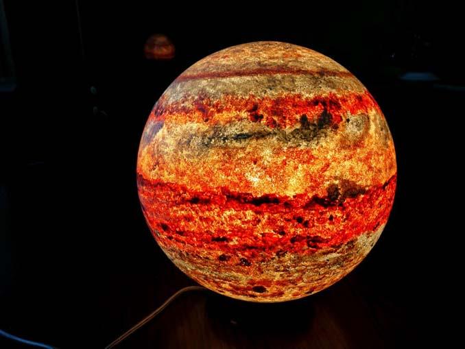Φωτιστικά σε σχήμα της Σελήνης και πλανητών (11)