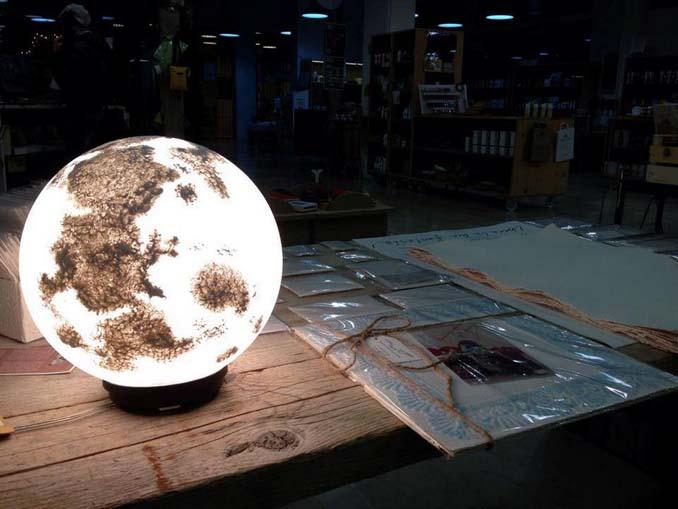 Φωτιστικά σε σχήμα της Σελήνης και πλανητών (12)