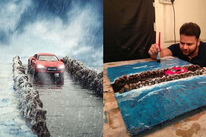 Φωτογραφίζοντας αυτοκίνητα μινιατούρες σαν να ήταν αληθινά (1)