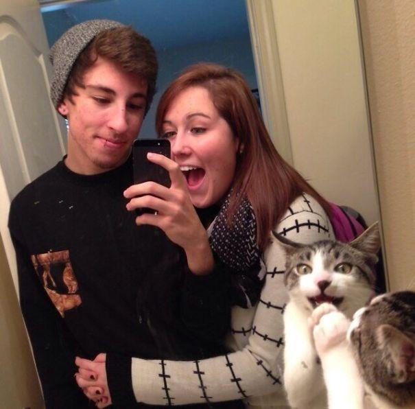 Όταν οι γάτες κάνουν Photobombing (2)