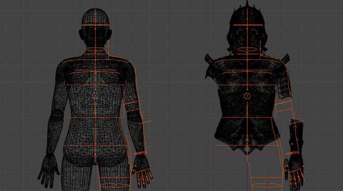 Αφιέρωσε 518 ώρες για την κατασκευή μιας φουτουριστικής μεσαιωνικής πανοπλίας (4)