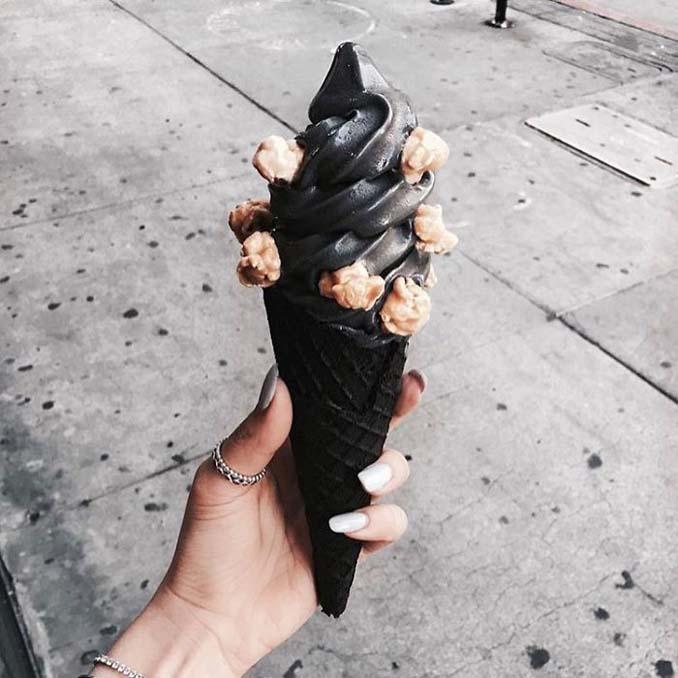 Μαύρο παγωτό (2)